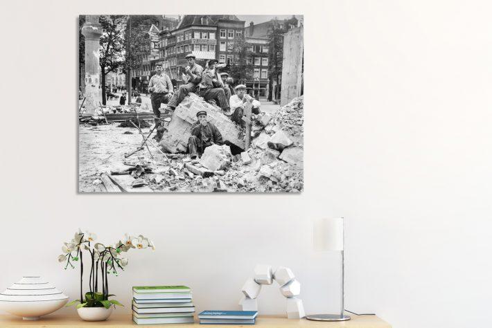 Fotograaf onbekend - Paleisstraat Amsterdam- Capture Amsterdam - Bron Stadsarchief Amsterdam 2
